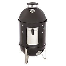 Buy Weber Smokey Mountain Barbecue, Black Online at johnlewis.com