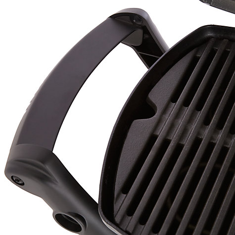 Buy Weber Q1400 Electric Barbecue with Stand, Black Online at johnlewis.com