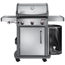 Buy Weber® Spirit® Premium S-320 GBS® BBQ Online at johnlewis.com