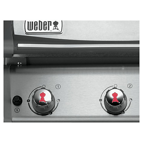 Buy Weber Spirit Premium Gourmet S320 3 Burner Gas Barbecue Online at johnlewis.com