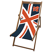 Buy John Lewis Olympic Deckchair Sling Online at johnlewis.com