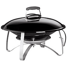 Buy Weber Fireplace, Black Online at johnlewis.com