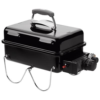 Weber Go Anywhere 1 Burner Gas Barbecue, Black