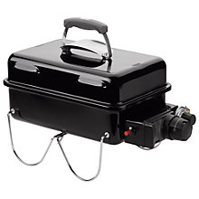 Buy Weber Go Anywhere 1 Burner Gas Barbecue, Black Online at johnlewis.com