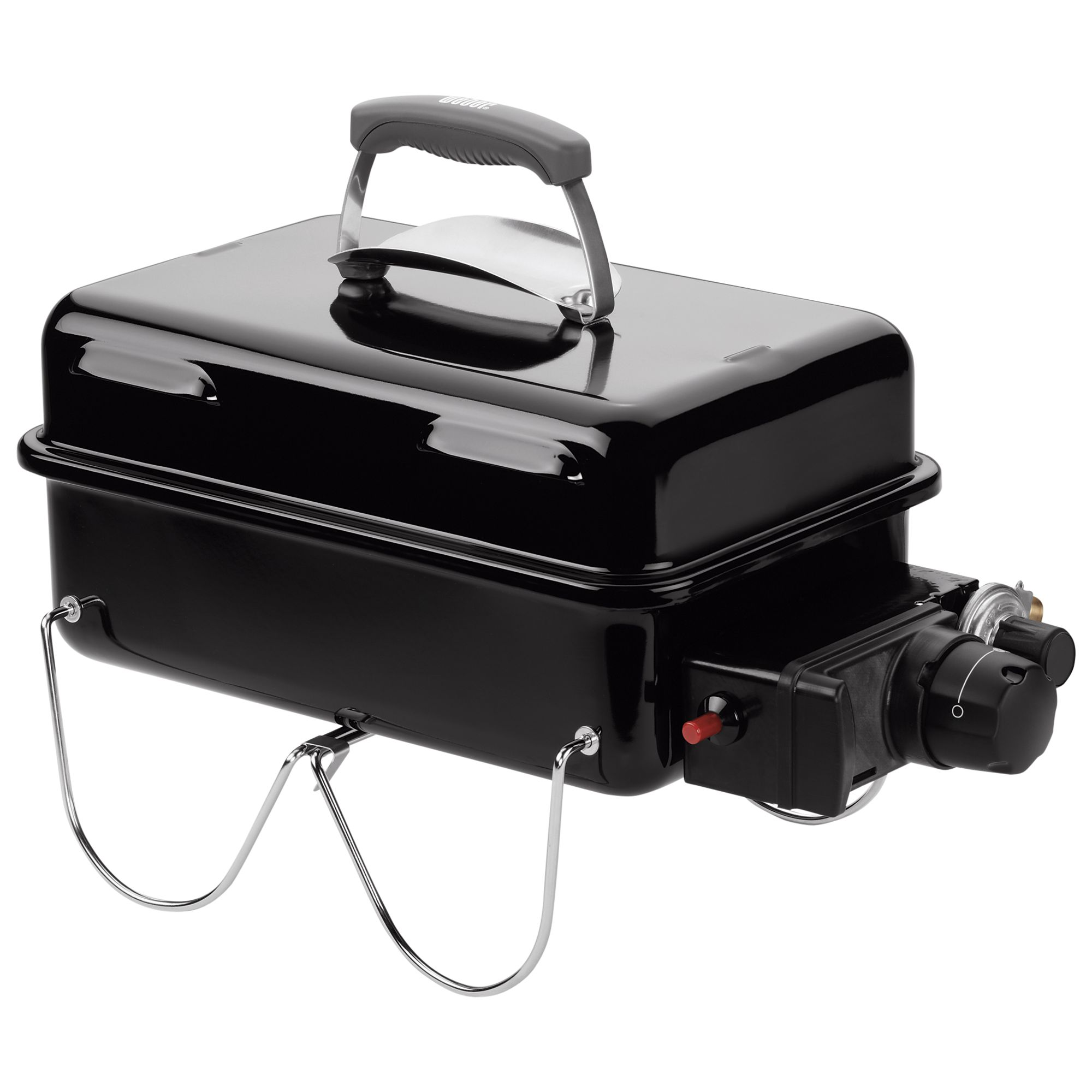 Weber Go Anywhere 1 Burner Gas Barbecue, Black