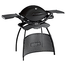 Buy Weber Midi Q2200 with Stand, Black Online at johnlewis.com