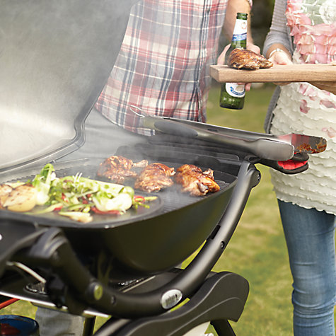 Buy Weber Midi Q2200 1 Burner Gas Barbecue with Stand, Black Online at johnlewis.com