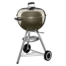 Buy Weber One Touch Original Charcoal Barbecue, 47cm Online at johnlewis.com