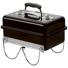Buy Weber Go Anywhere Charcoal Barbecue, Black Online at johnlewis.com