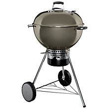 Buy Weber Master Touch Gourmet Barbecue, 57cm, Smoke Online at johnlewis.com