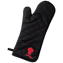 Buy Weber® BBQ Mitt, Black Online at johnlewis.com