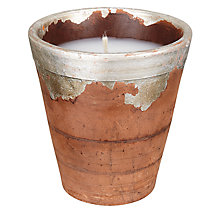 Buy John Lewis Rustic Terracotta Candles Online at johnlewis.com