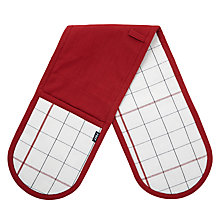 Buy John Lewis British Classics Double Oven Glove Online at johnlewis.com