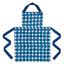 Buy House by John Lewis Large Spots Apron Online at johnlewis.com