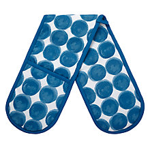 Buy House by John Lewis Large Spots Double Oven Glove Online at johnlewis.com