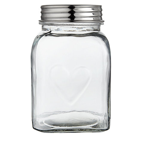 Buy John Lewis Country Heart Storage Jar Online at johnlewis.com