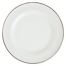 Buy John Lewis Country Parlour Striped Dinner Plate, Multi Online at johnlewis.com