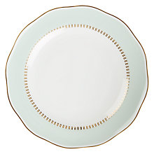 Buy John Lewis Parlour Side Plate, Turquoise Online at johnlewis.com