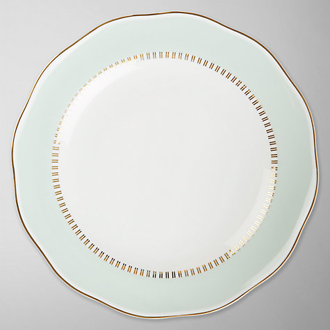 Buy John Lewis Country Parlour Side Plate, Turquoise Online at johnlewis.com