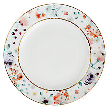 Buy John Lewis Parlour Floral Side Plate, Multi Online at johnlewis.com