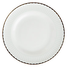 Buy John Lewis Parlour Striped Tea Plate, Multi Online at johnlewis.com
