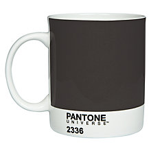 Buy Pantone Mug, Graphite 2336 Online at johnlewis.com