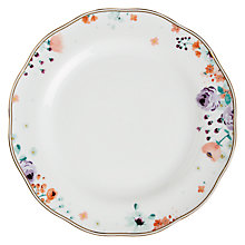 Buy John Lewis Parlour Floral Dinner Plate, Multi Online at johnlewis.com