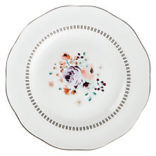 Buy John Lewis Parlour Country Floral Tea Plate, Multi Online at johnlewis.com