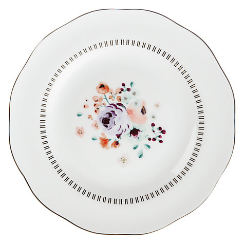 Buy John Lewis Country Parlour Floral Tea Plate, Multi Online at johnlewis.com