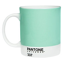 Buy Pantone Mug, Mint 337 Online at johnlewis.com