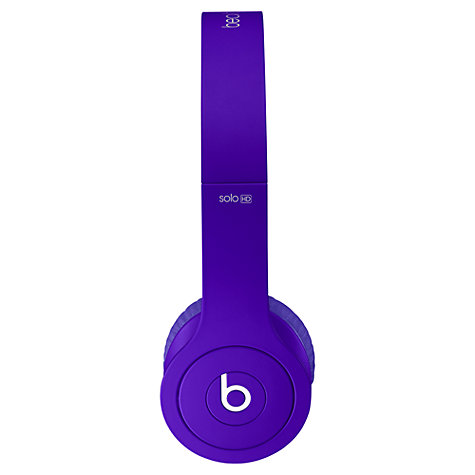 Buy Beats™ by Dr. Dre™ Solo™ HD High Definition On-Ear Headphones with Mic/Remote Online at johnlewis.com