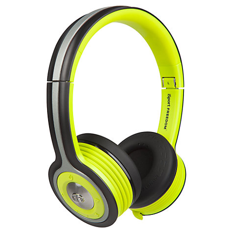 Buy Monster iSport Freedom On-Ear Bluetooth Headphones with Mic/Remote Online at johnlewis.com