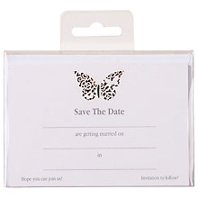 Buy Talking Tables Something in the Air Save the Date Cards, Pack of 10 Online at johnlewis.com