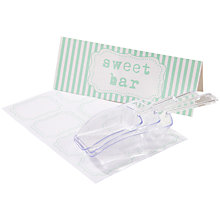 Buy Talking Tables Mint Lace Sweetie Table Kit Online at johnlewis.com
