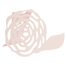 Buy Neviti F&S Rose Placecards, Pack of 10 Online at johnlewis.com