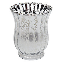 Buy John Lewis Mercurised Glass Filled Candle Online at johnlewis.com