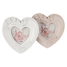 Buy John Lewis Heart Photo Frame, Assorted Online at johnlewis.com