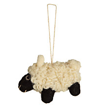 Buy Felt So Good Sheep Hanging Decoration Online at johnlewis.com