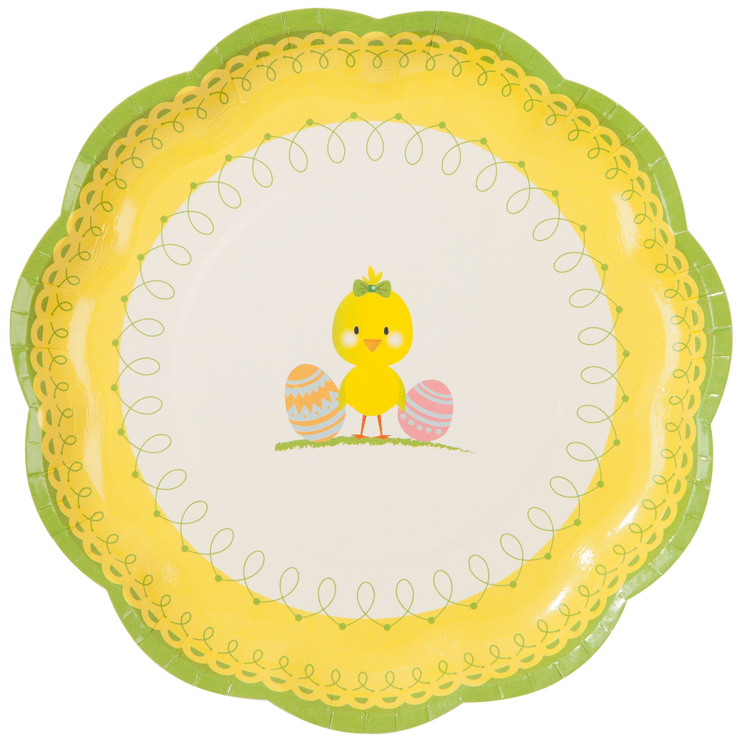 Talking Tables Easter Paper Plates, Pack of 12