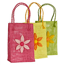 Buy John Lewis Flower Bags, Assorted Online at johnlewis.com