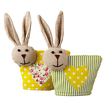 Buy Big Decs Bunny Egg Cosy, Assorted Online at johnlewis.com