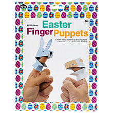 Buy Npw Easter Paper Finger Puppets Kit Online at johnlewis.com
