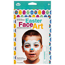 Buy Npw Easter Face Paint and Stencil Art Kit Online at johnlewis.com