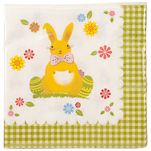 Buy Talking Tables Easter Napkins, Pack of 20 Online at johnlewis.com