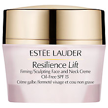 Buy Estée Lauder Resilience Lift Firming/Sculpting Face and Neck Creme SPF 15, 50ml Online at johnlewis.com