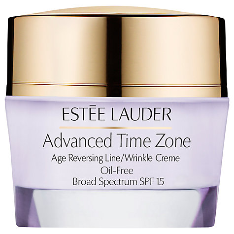 Buy Estée Lauder Advanced Time Zone Age Reversing Line/Wrinkle Face Creme Oil Free, 50ml Online at johnlewis.com