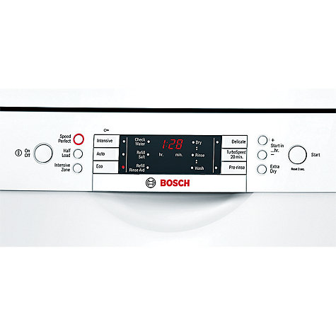 Buy Bosch SMS65E32GB Dishwasher, White Online at johnlewis.com