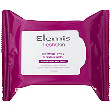 Buy Elemis FreshSkin Make Up Away Cleansing Wipes x 25 Online at johnlewis.com