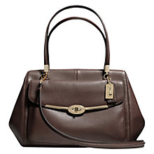 Buy Coach Madison Madeline East/West Satchel Bag Online at johnlewis.com