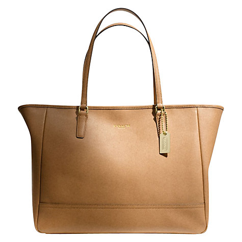 Buy Coach City Leather Medium Tote Handbag Online at johnlewis.com